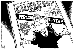 Clueless Mag Man of the Year by Mike Lane