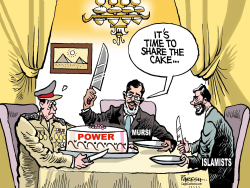 Cairo power sharing by Paresh Nath