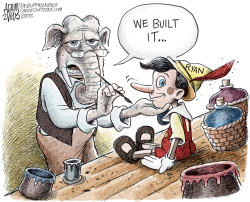 We Built It  by Adam Zyglis