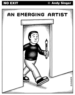 Emerging Artist by Andy Singer