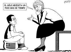 Samaras con Lagarde by Rainer Hachfeld