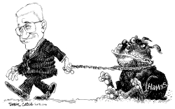 Abbas and Hamas by Daryl Cagle