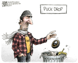 NHL Lockout Continues  by Adam Zyglis