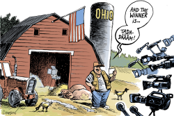 OHIO IS VOTING by Patrick Chappatte
