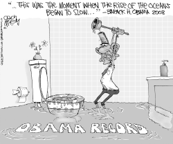 Obama's Rising Waters by Gary McCoy