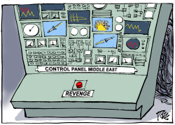 Control panel Middle East by Tom Janssen