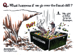 Fiscal cliff color by Jimmy Margulies