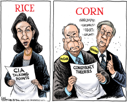 Rice and Corn by Kevin Siers