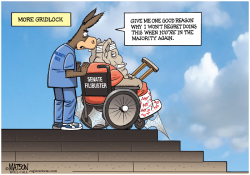 Senate Democrats Consider Changing Filibuster Rule- by RJ Matson
