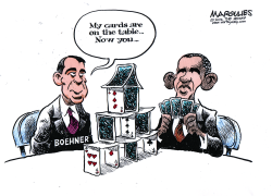 Fiscal cliff negotiations color by Jimmy Margulies