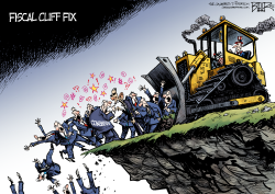 Fiscal Cliff Proposal  by Nate Beeler