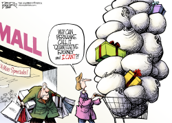 Fed Shopping Spree  by Nate Beeler