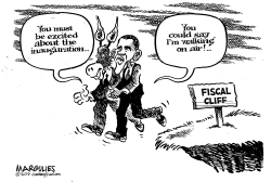 Fiscal cliff by Jimmy Margulies
