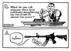 Assault weapons by Jimmy Margulies