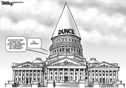 DUNCE CAP by Bill Day