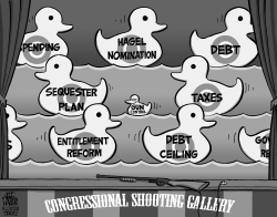 Congress Gun Control and Bigger Issues by Jeff Parker