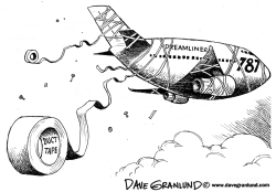 Dreamliner 787 problems by Dave Granlund