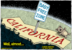 LOCAL-CA Declining Calif Birthrate  by Wolverton