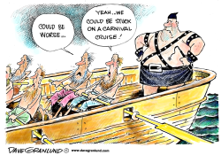 Carnival Cruise fiasco by Dave Granlund