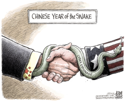 Chinese Espionage  by Adam Zyglis