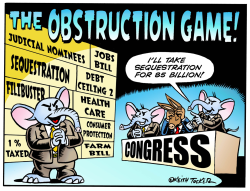 Playing the Obstruction Game  by Keith Tucker