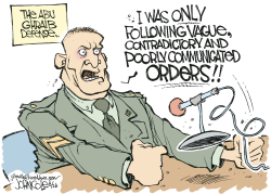 Only following orders by John Cole