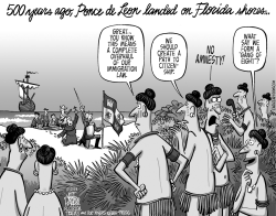 LOCAL FL Ponce de Leon and Immigration by Jeff Parker