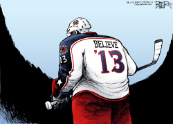 LOCAL OH - Blue Jackets Believe  by Nate Beeler