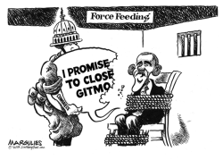 Obama and Gitmo by Jimmy Margulies