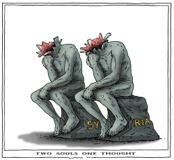 two souls one thought by Joep Bertrams