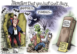 Monsters by Joe Heller