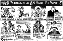 Terrorists by Milt Priggee