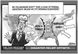 Senator Coburn Wants Offsets for Federal Disaster Relief by RJ Matson