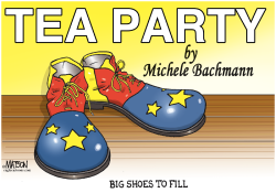 Michele Bachmann Leaves Big Shoes to Fill- by RJ Matson