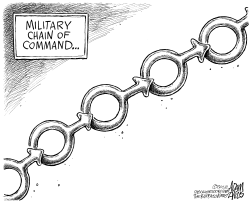 Chain of Command by Adam Zyglis
