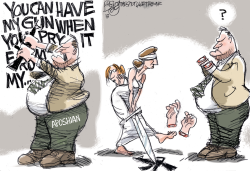 LOCAL Cold Dead Hands by Pat Bagley