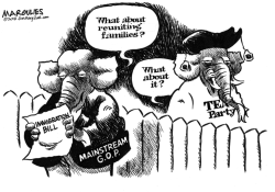 Immigration bill and Republicans by Jimmy Margulies