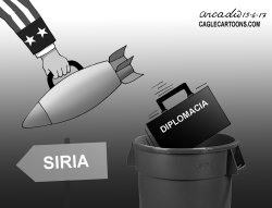 USA y la guerra en Siria by Arcadio Esquivel