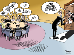 G-8 on Syria  by Paresh Nath