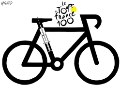 Tour de France 100 by Rainer Hachfeld