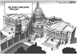Border Fence Separates Senate Immigration Bill from House by RJ Matson
