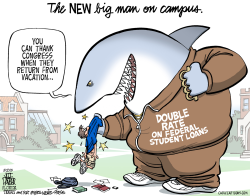 Student Loan Shark  by Jeff Parker