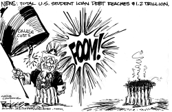 College Costs by Milt Priggee