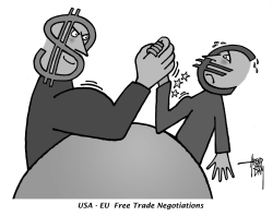 Free Trade Negotiations by Arend Van Dam