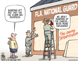 LOCAL FL National Guard Furloughed During Hurricane Season  by Parker