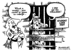 Student loan debt by Jimmy Margulies