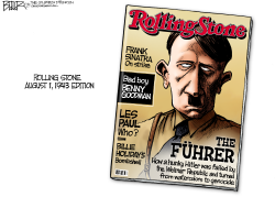 Rolling Stone Cover  by Nate Beeler