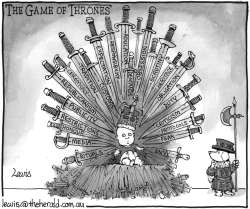 The Game of Thrones by Peter Lewis