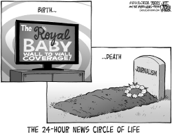Royal Baby Media Coverage by Jeff Parker