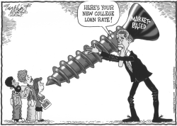 New College Loan Rates by Bob Englehart